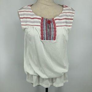 Velvet sleeveless top